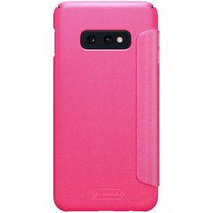 Чехол-книжка Nillkin Sparkle для Samsung Galaxy S10e (Розовый)