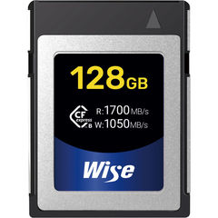 Карта памяти Wise Cfexpress B 128GB CFX-B 1700/1050 MB/s