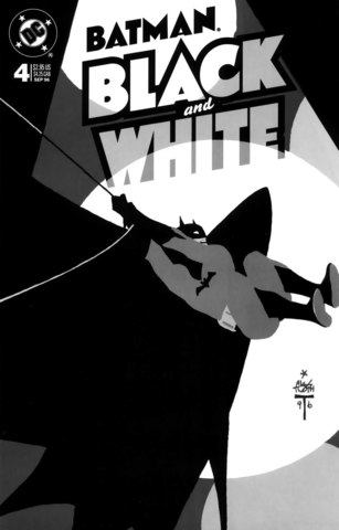 Batman Black and White #4