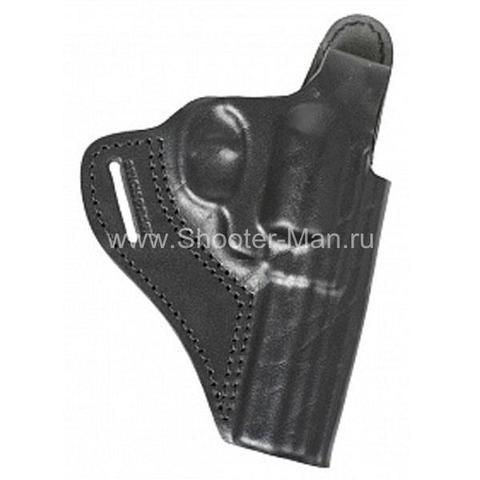Кобура кожаная для револьвера Гроза Р-04 ( модель № 6 ) Стич Профи