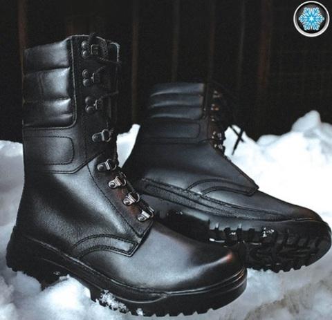 Зимние ботинки с высокими берцами GARSING 528 «MONT BLANC»