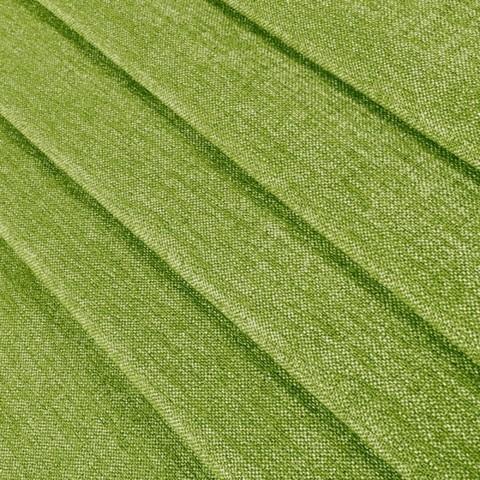 Блэкаут лен для штор зеленая. BLL-8-01