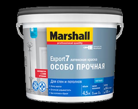 Marshall Export 7 Моющаяся матовая краска для внутренних работ.