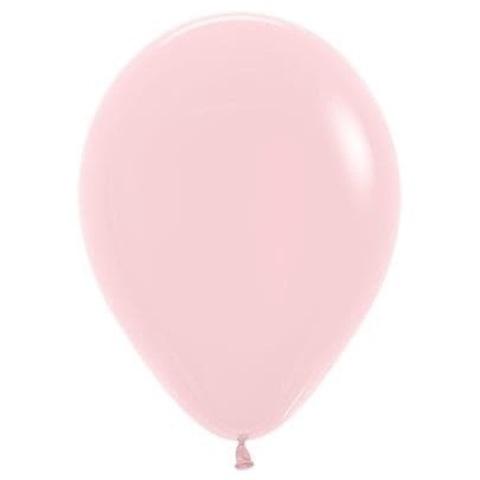 Шар Светло-Розовый, макарунс, 30 см