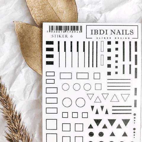 STIKER IBDI NAILS 06