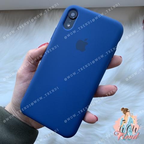 Чехол iPhone XR Silicone Case /blue horizon/