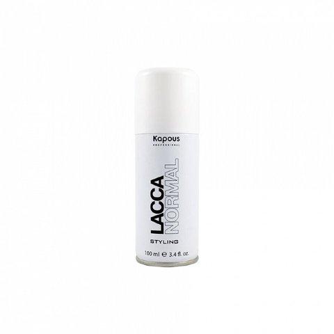 Kapous Professional Лак аэрозольный для волос нормальной фиксации «Lacca Normal», 100 мл