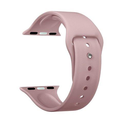 Ремешок силиконовый Deppa Band Silicone D-47131 для Apple Watch 44мм/ 42мм Розовый