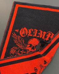 Полотенце Olimp Live & Fight Towel black 70x40