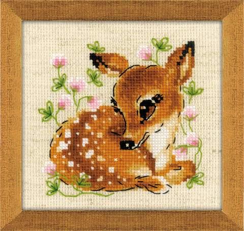 Набор для вышивания крестом «Маленький олень» (1777)