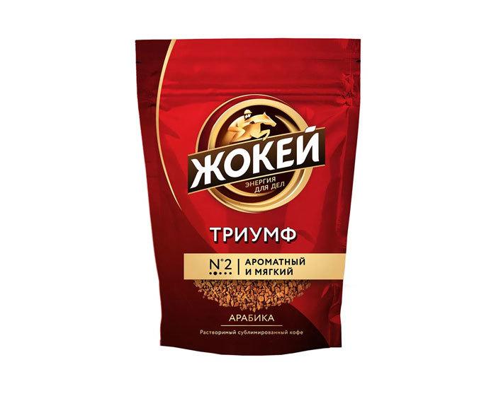 купить Кофе растворимый Жокей Триумф, 150 г пакет