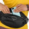 Картинка сумка поясная Osprey daylite waist Honeybee Yellow/Deep Sea Blue - 5