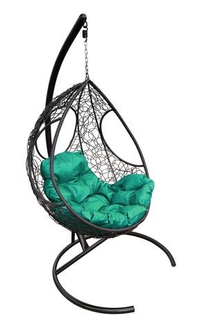 Кресло подвесное Ferrol black/green