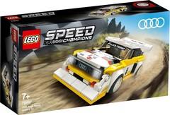 Lego konstruktor Speed 1985 Audi Sport quattro