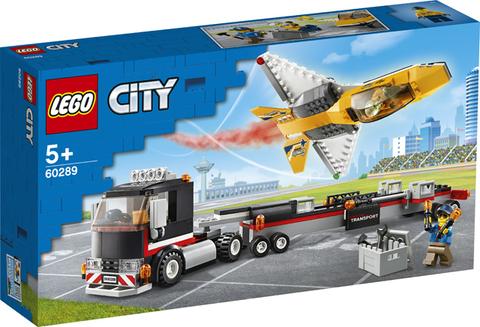 Lego konstruktor City Airshow Jet Transporter