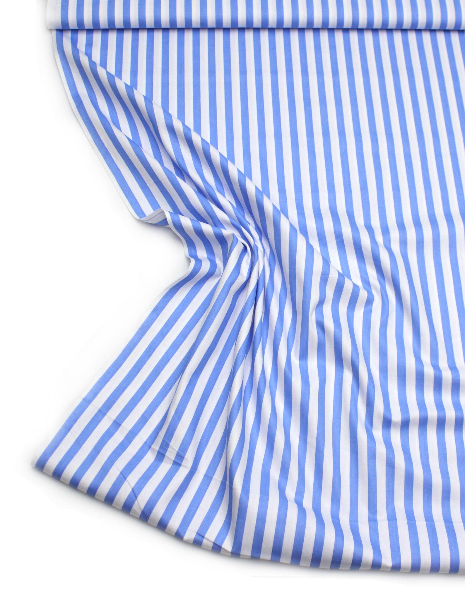 Полоски голубые,1 см