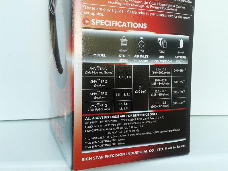 STAR SMV 4F характеристики модели