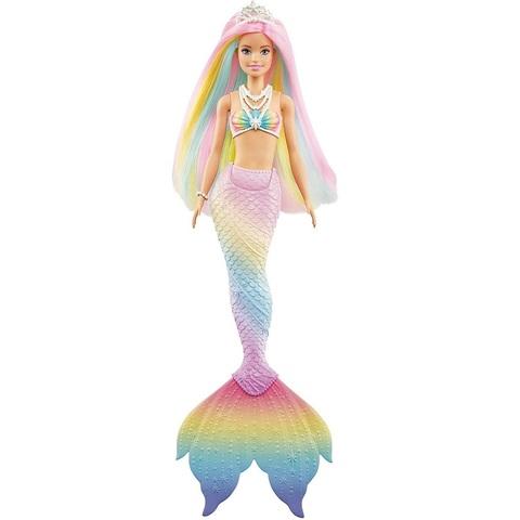 Барби Дримтопия Волшебная Русалка с Радужными Волосами