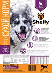 Сухой корм для щенков собак всех пород, Shelly, с ягненком