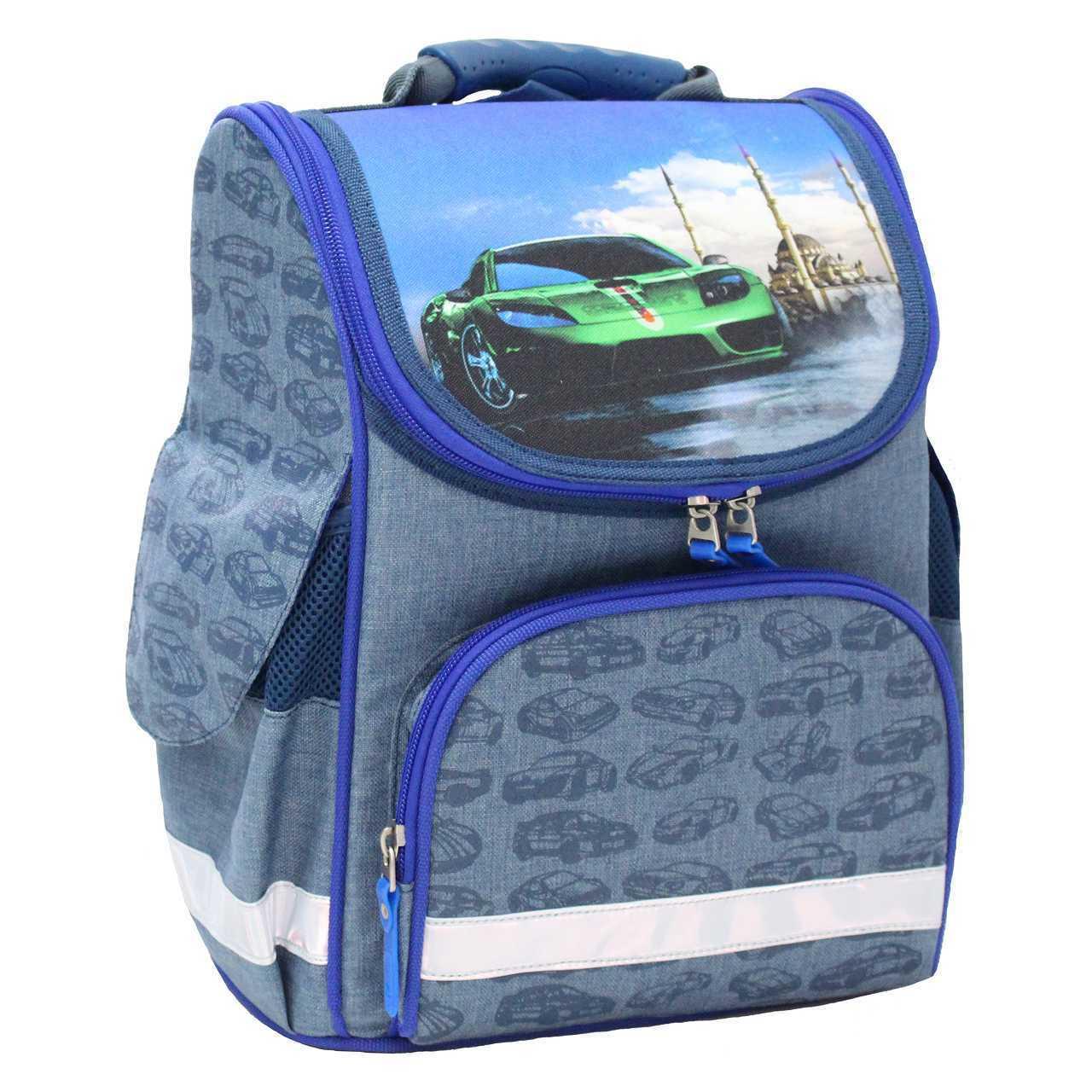 Школьные рюкзаки Рюкзак школьный каркасный Bagland Успех 12 л. 225 синiй 58 м (00551692) IMG_4692.jpg