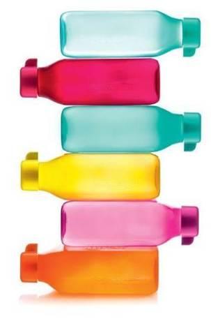 Бутылки эко квадратные 500мл тапервер