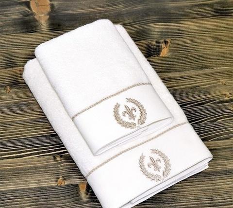 SEYMOUR - СЕЙМУР кремовый полотенце махровое Maison Dor(Турция) .