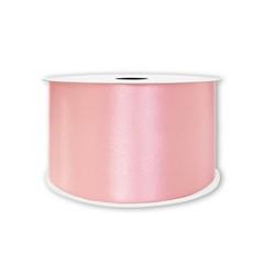 Лента атласная Розовый, 7 мм * 22,85 м
