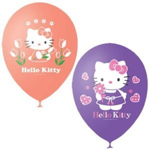 Шары из серии Hello Kitty