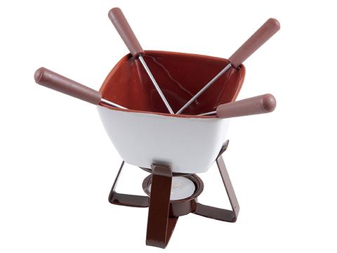 6301 FISSMAN Vanilla Набор для приготовления шоколадного фондю,  купить