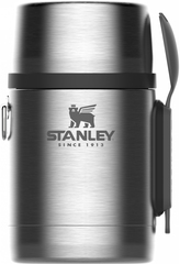 Термос для еды Stanley Adventure Food 0.53L Стальной (10-01287-032)