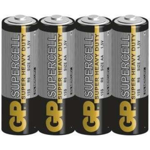 Элемент питания GP R6 Supercell к-т4 shrink 1/10/50/250