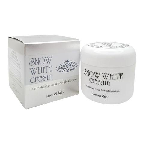 Secret Key Крем для лица отбеливающий Snow White Cream 50 мл.