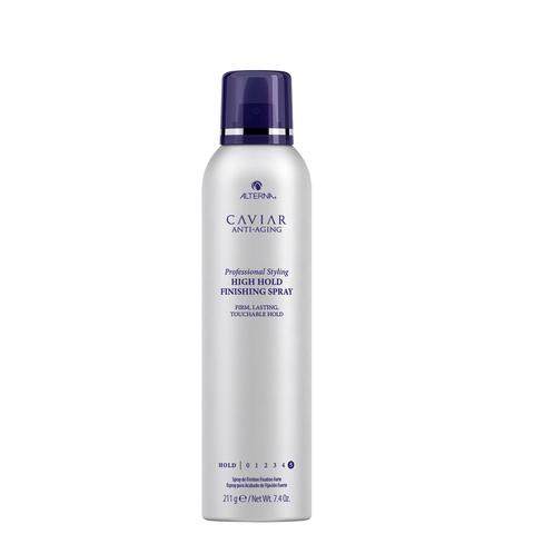 Alterna Профессиональный спрей для волос сильной фиксации с экстрактом черной икры Caviar Anti-Aging Professional Styling High Hold Finishing Spray