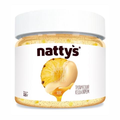 Паста-крем NATTYS Тропический кешью Ананас 300 г