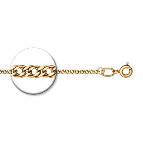 988040302 - Цепь из золочёного серебра