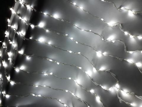 Гирлянда сетка LED Размер 150*150 см белая