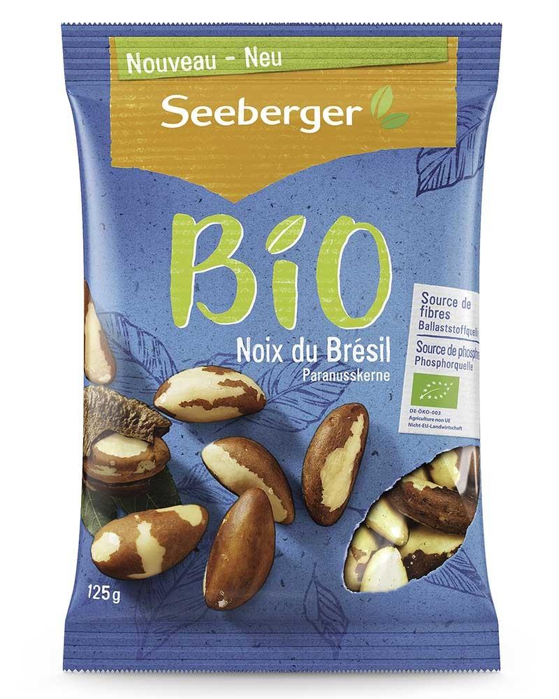 Бразильский орех Seeberger БИО 125 гр.