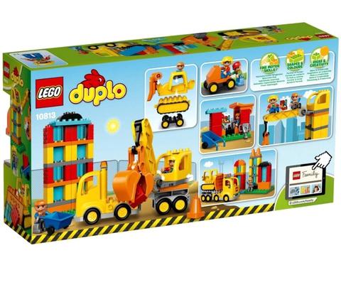 LEGO Duplo: Большая стройплощадка 10813 — Town Big Construction Site — Лего Дупло