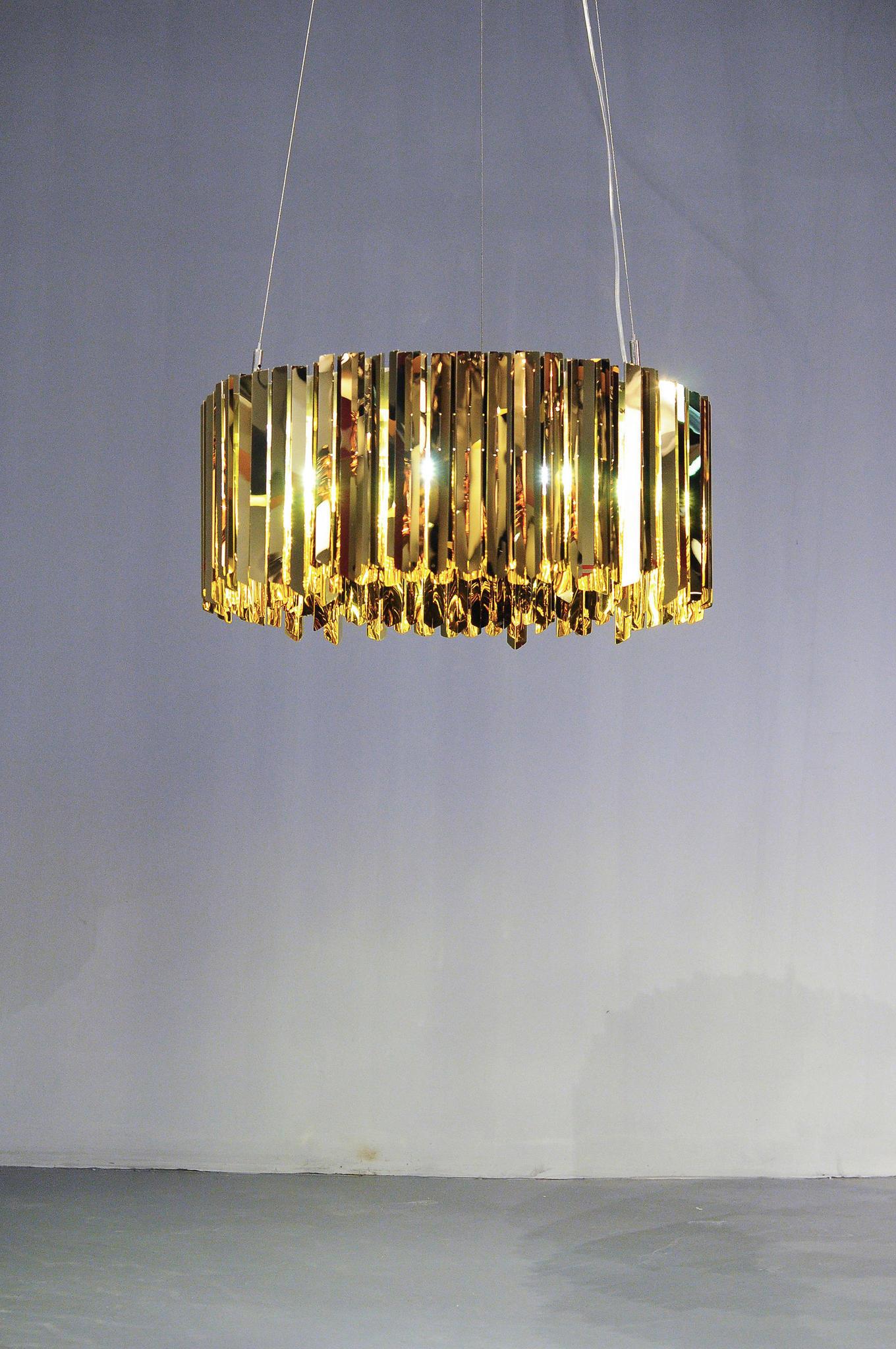 Подвесной светильник копия Tom Kirk Facet by Innermost D18 (серебряный)