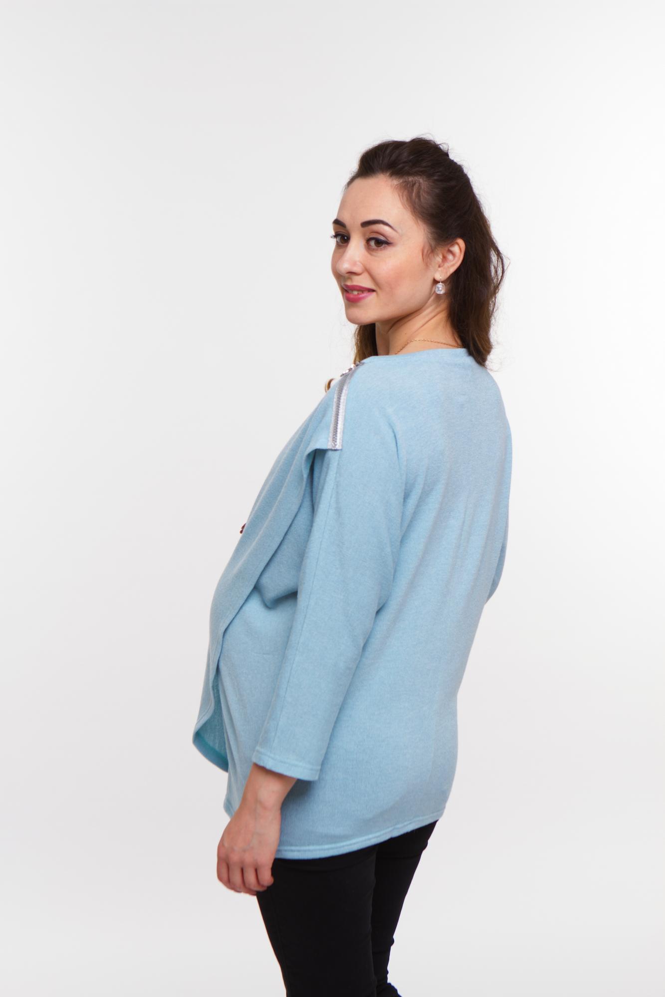 Джемпер для беременных 08032 ментол