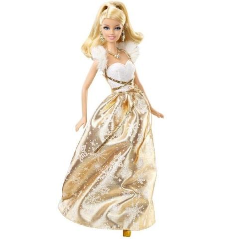 Барби Праздничные Пожелания 2011 X4869