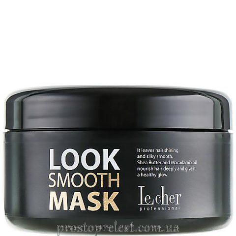 LeCher Professional  Smooth Mask - Маска для пористого і ушкодженого волосся