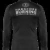 Рашгард Hardcore Training Burning Black