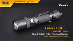 Фонарь Fenix FD30 900 люмен