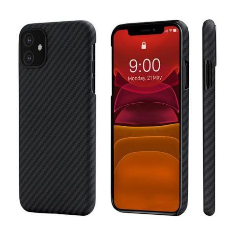 Чехол Pitaka MagEZ Case для Apple iPhone 11 (Black/Gray Twill)