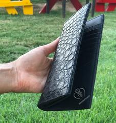 Кошелек из кожи крокодила WA-98