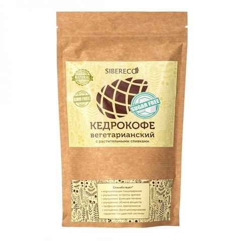 Кедрокофе Вегетарианский, 250 гр. (СибирьЭко)