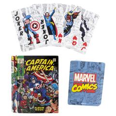 Карты игральные Marvel Comic Book
