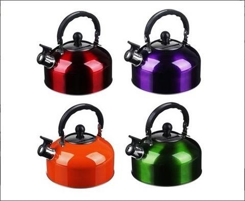 Чайник стальной 2.3л, 4 цвета, KCWK052-2.3C, индукция