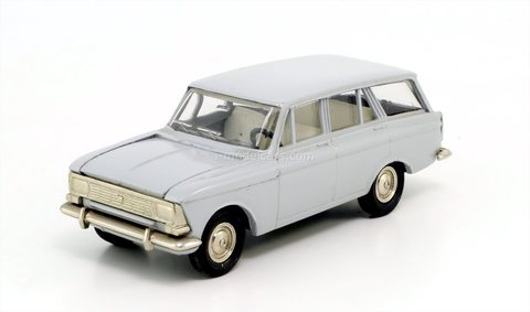 Moskvich-427 (bottom metal) gray Agat Tantal Made in USSR 1:43